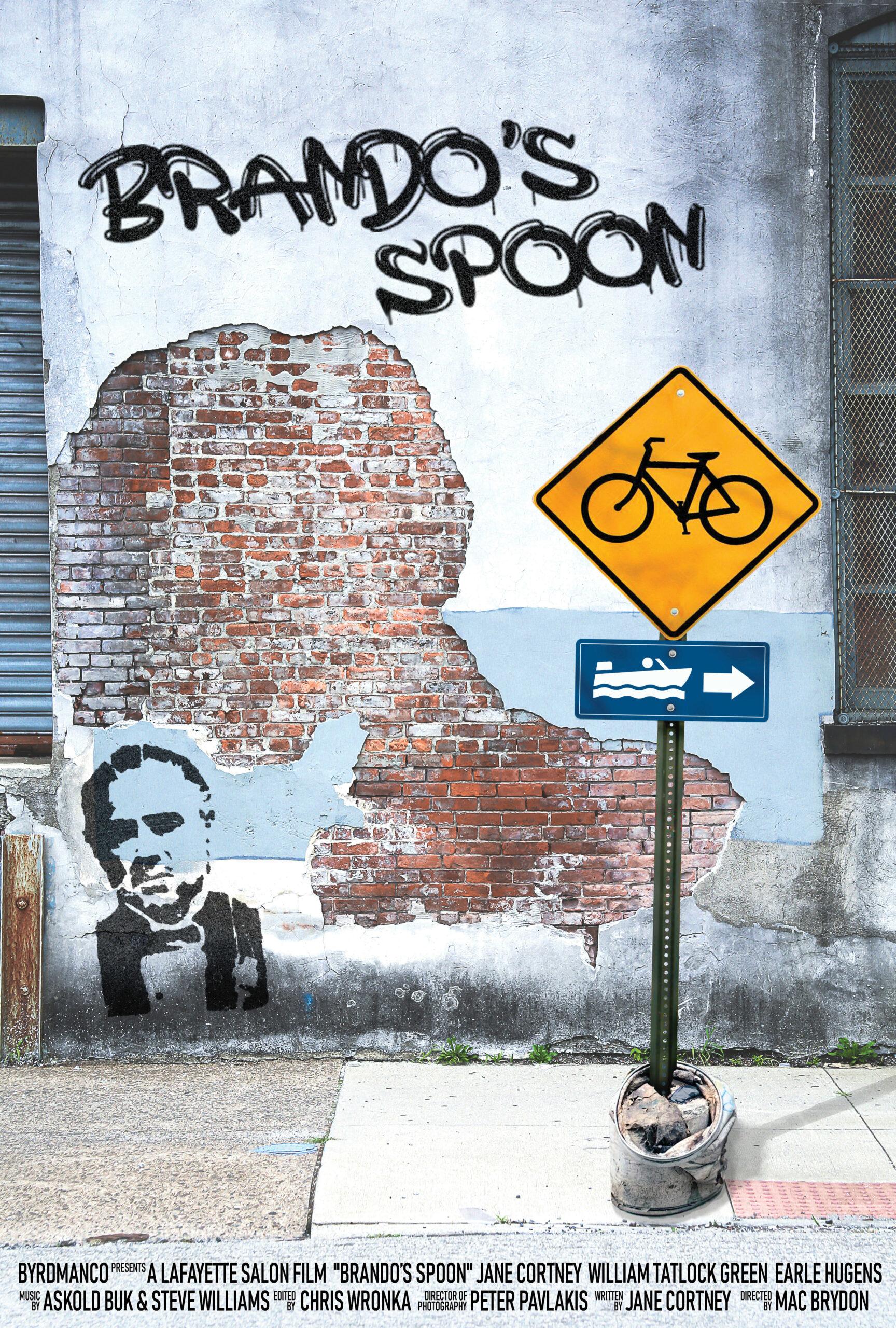Brando's Spoon poster Askold Buk